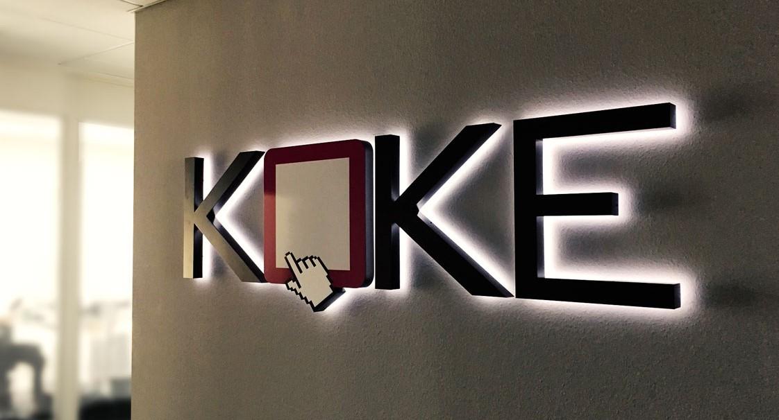 KOKE_logo_Wand